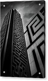 Double Maze Acrylic Print