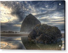 Double Rock Acrylic Print