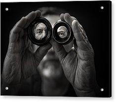 Double Vision Acrylic Print by Photo by marianna armata