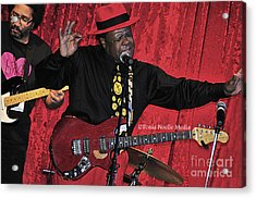 Acrylic Print featuring the photograph Doug Lewis And Norman Sylvester by Tonia Noelle