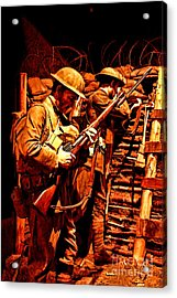 Doughboys  Acrylic Print by Tommy Anderson