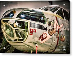 Douglas A-26c Invader Acrylic Print by Inge Johnsson