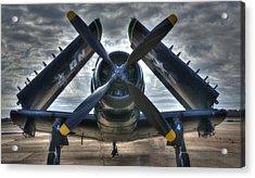 Douglas A1- E Skyraider Acrylic Print