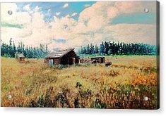 Douglas Lake Ranch  Acrylic Print
