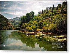 Douro Landscape I Acrylic Print by Carlos Caetano