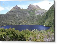 Dove Lake Tasmania All Profits Go To Hospice Of The Calumet Area Acrylic Print