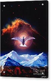 Dove Of Universal Peace Acrylic Print