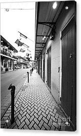 Down Bourbon Street Acrylic Print by John Rizzuto
