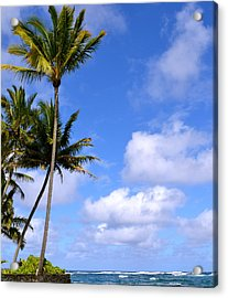 Acrylic Print featuring the photograph Down By The Ocean In Hawaii by Lehua Pekelo-Stearns