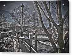 Acrylic Print featuring the photograph Down By The River by Deborah Klubertanz