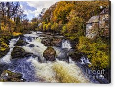 Down By The River Acrylic Print by Ian Mitchell