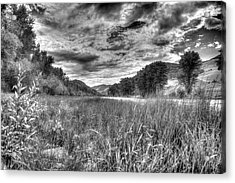 Acrylic Print featuring the photograph Down By The River  by Kevin Bone