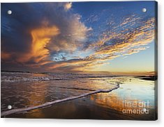 Down By The Seaside Acrylic Print
