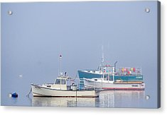 Acrylic Print featuring the photograph Down East Maine  by Trace Kittrell