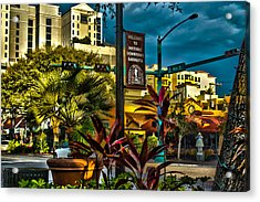 Down On Main Street Acrylic Print