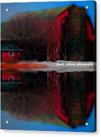 Down On The Farm Acrylic Print by Frank Sciberras