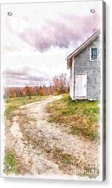 Down The Country Lane Acrylic Print