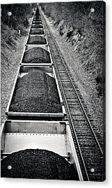Down The Line Acrylic Print by Jessica Brawley