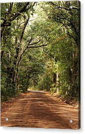 Down The Road A Piece  Acrylic Print by Kim Thompson