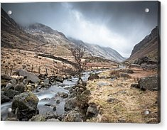 Down The Valley Acrylic Print