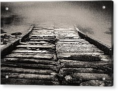 Acrylic Print featuring the photograph Down To The Water by Arkady Kunysz