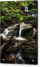 Downstream Acrylic Print by Mark Papke