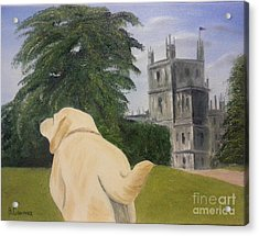 Downton Abbey Acrylic Print by Bev Conover
