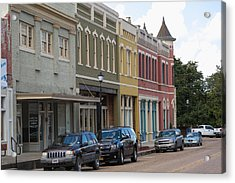 Downtown Abbevile Louisiana Acrylic Print