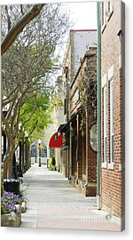 Downtown Aiken South Carolina Acrylic Print