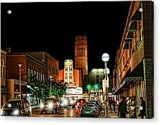 Downtown Ann Arbor Acrylic Print