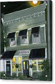 Downtown Books 11 Acrylic Print by Susan Richardson