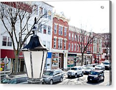 Downtown Brockport I Acrylic Print
