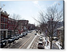 Downtown Brockport IIi Acrylic Print