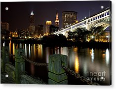 Downtown Cleveland Acrylic Print