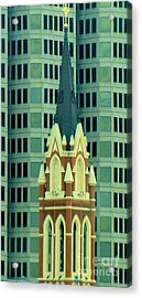Downtown Dallas Acrylic Print by Janette Boyd