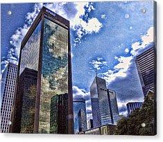 Downtown Dallas Acrylic Print