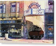 Downtown Acrylic Print by David Honaker
