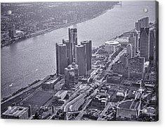 Downtown Detroit Acrylic Print