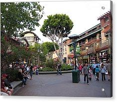 Downtown Disney Anaheim - 12128 Acrylic Print by DC Photographer