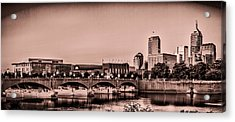 Downtown Indianapolis Acrylic Print