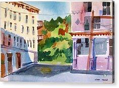Downtown Kingston New York Acrylic Print