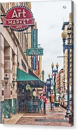 Downtown Knoxville Acrylic Print