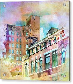 Downtown Living In Color Acrylic Print