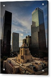 Downtown Los Angeles 004 Acrylic Print by Lance Vaughn