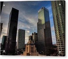 Downtown Los Angeles 005 Acrylic Print by Lance Vaughn