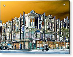 Downtown Los Angeles Corner Facade Acrylic Print