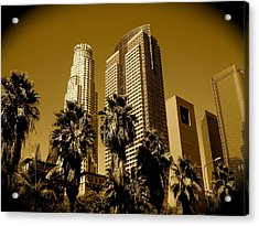 Downtown Los Angeles Acrylic Print