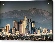 Downtown Los Angeles Acrylic Print