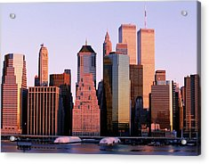 Downtown Manhattan Acrylic Print