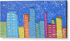Downtown Acrylic Print